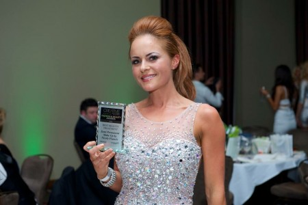 Nicole WINs award for 'Best Beauty Treatment in the North West with her SPMU!